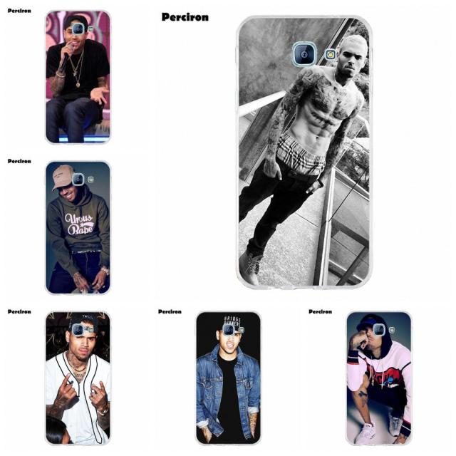 US $1 99 |Perciron Chris Brown Breezy Rnb Durable For Samsung Galaxy A3 A5  A7 J1 J2 J3 J5 J7 2015 2016 2017 Soft Fashion Original-in Half-wrapped Case