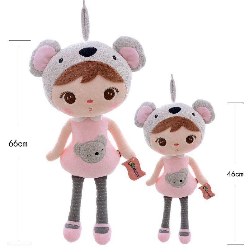 Ny Ankomst Original Metoo Lucky Dolls Rosa Koala Plysj Barn Baby - Dukker og tilbehør - Bilde 3