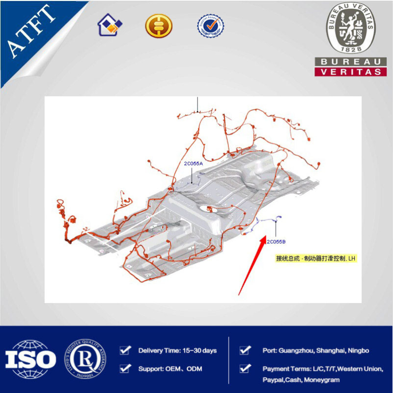 Car Auto Parts ABS Sensor Wiring Harness For Ford Escort OEM ... Abs Wiring Diagram Ford Zx on