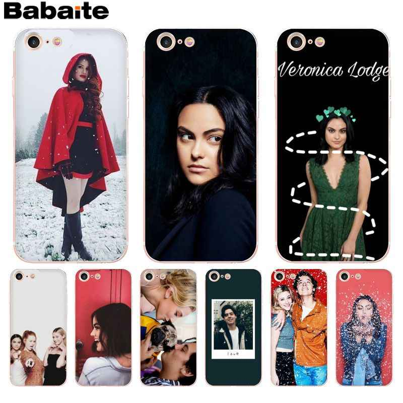 Babaite Archie Betty Jughead Jones Veronica Riverdale New High phone case for Apple iPhone 8 7 6 6S Plus X XS max 5 5S SE XR