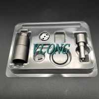 Overhaul Repair Kits Injector 095000 5600 Nozzle DLLA145P870 Valve Plate Pin, Sealing Ring For 0950005600 L200 4D56 Euro4
