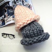 250g/Lot Thick Yarn Knitted Scarf Hats Line Extra Thick Hand Knitting Coarse Yarn Korea Very Thick Iceland Wool Yarn