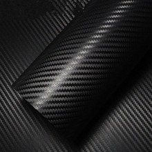 127*30CM carbon fiber DIY car sticker armrest button switch Dashboard Doorknob outside mirror roof black blue golden pink