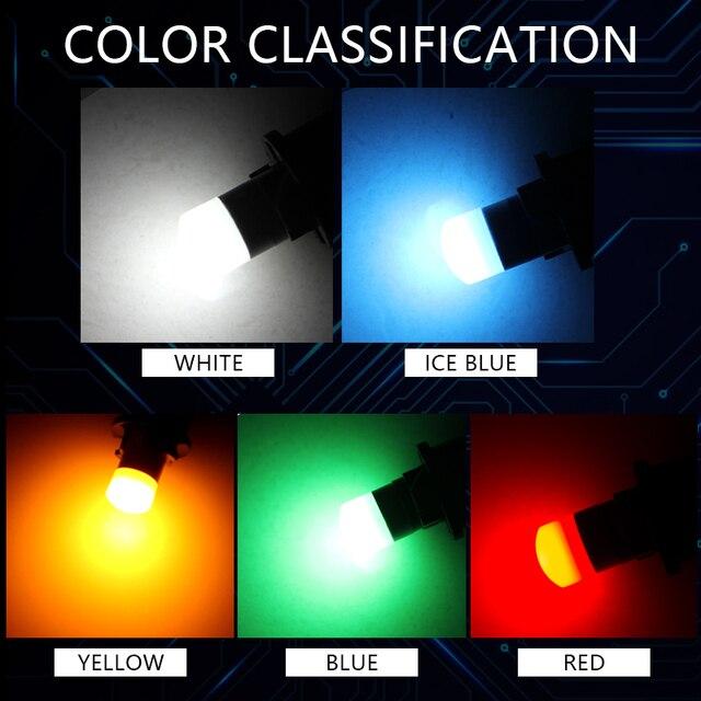 2 pièces 2019 3030 SMD 350LM T10 W5W LED lumières de dégagement de voiture lampe de lecture Auto véhicule dôme porte ampoule accessoires blanc pur 6000 K