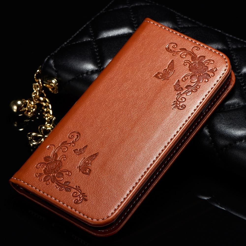 Pro Huawei Y6 Honor 4A Pouzdro na telefon Peněženka Motýl - Příslušenství a náhradní díly pro mobilní telefony