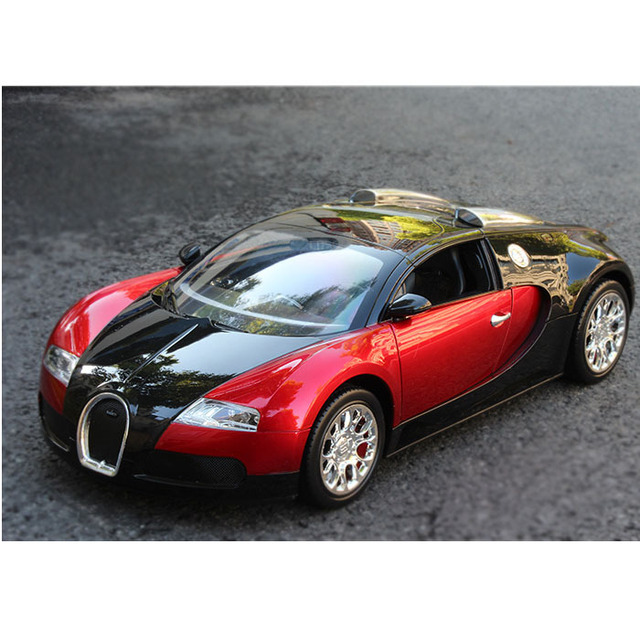 Carro RC 1:14 Para Bugatti Veyron Alta Velocidade Roadster Modelo de Simulação de controle Remoto Carro de Brinquedo elétrico Do Carro 4 CH hobby