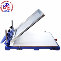 SPE6252 Big Pallet Screen Printing Machine Manual Screen Printing Equipment