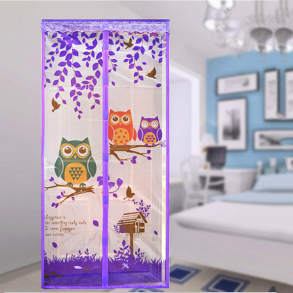 90/100 x 210 CM Curtain Anti Mosquito Magnetic Tulle Shower Curtain Automatic Closing Door Screen Summer Style Mesh Net 4 Color|mosquito magnetic|door screen|mesh net - title=