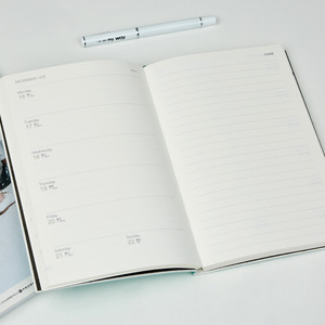 Image 5 - מחברת מתכנן 365 ימים 2020 2019 A5 יומי זמן תזכיר תכנון סדר יום מארגן פגישה בית הספר משרד לוח זמנים נייח מתנות