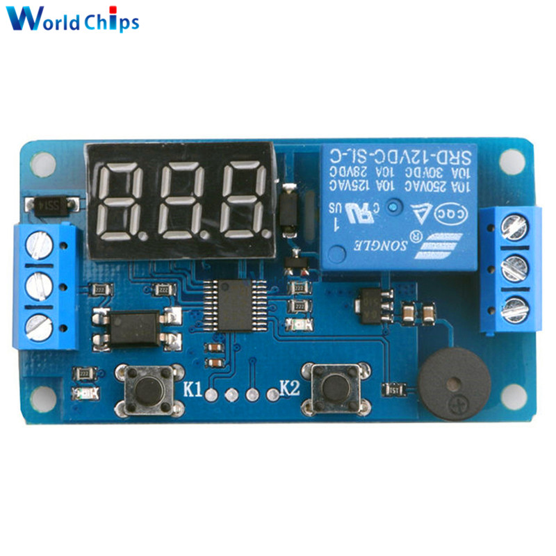 Free Shipping Dc 12v Programmable Timer Switch Trigger