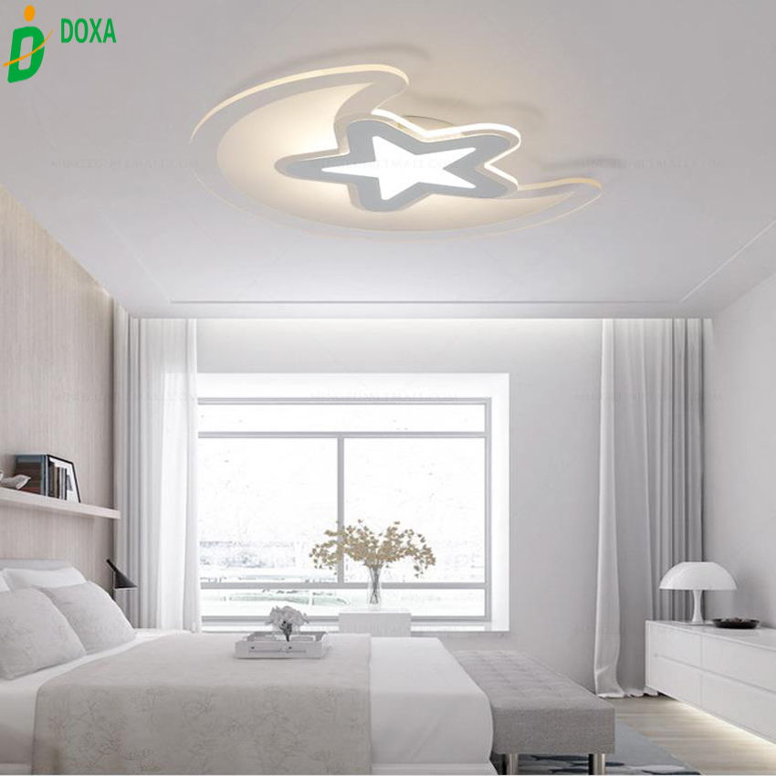 New arrival super thin stars mooncreative led ceiling lights new arrival super thin stars mooncreative led ceiling lights modern geometry shape led lighting fixture lampara for bedroom in ceiling lights from lights mozeypictures Choice Image