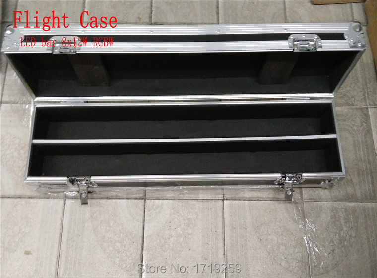 Flight Case Perfect For  LED bar 8x12W RGBW, can put 2piece LED Bar ,product only the Flight Case