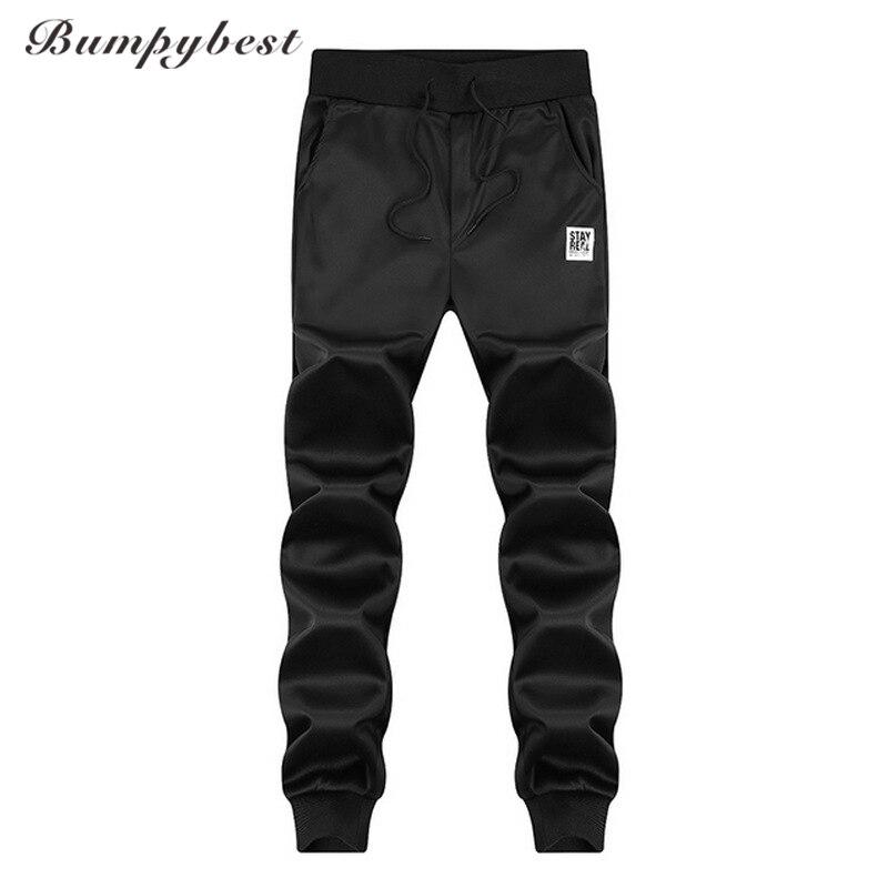 Bumpybeast Spring Casual Pants Men Skinny Mens Sweat Pants Male Cotton Sportswear Menswear Long Casual Trousers Straight Pants
