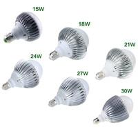 Nieuwe Bright A19 E27/E26 Globe LED Lamp Licht Lamp 85-265 V 15 W/18 W/21 W/24 W/27 W/30 W High Power Led Super Heldere Lamp