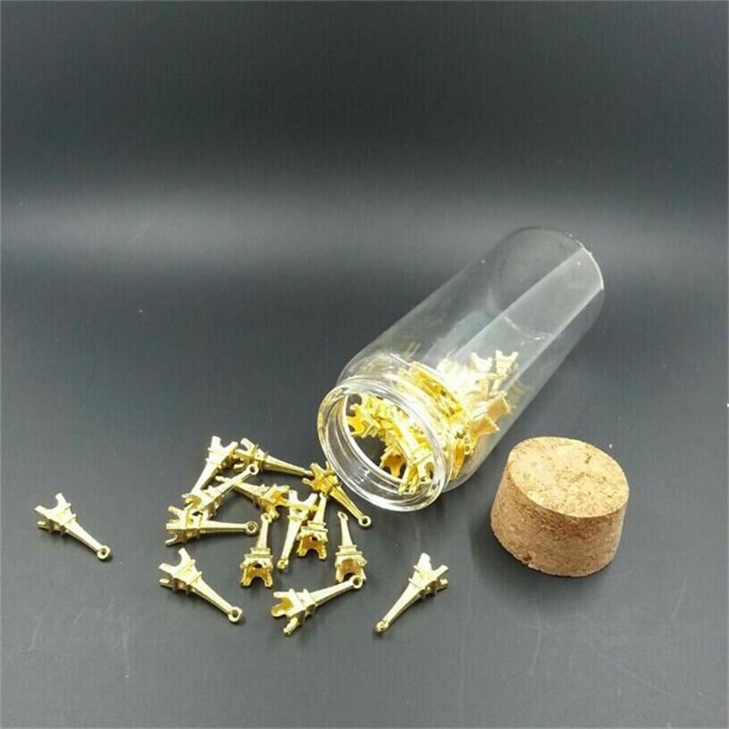Bouteilles en verre avec liège artisanat bouteilles pots cadeau - Organisation et stockage dans la maison - Photo 2