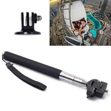 For GoPro Hero four three+ three 2 Extension Selfie Stick Monopod+Tripod Mount Accent