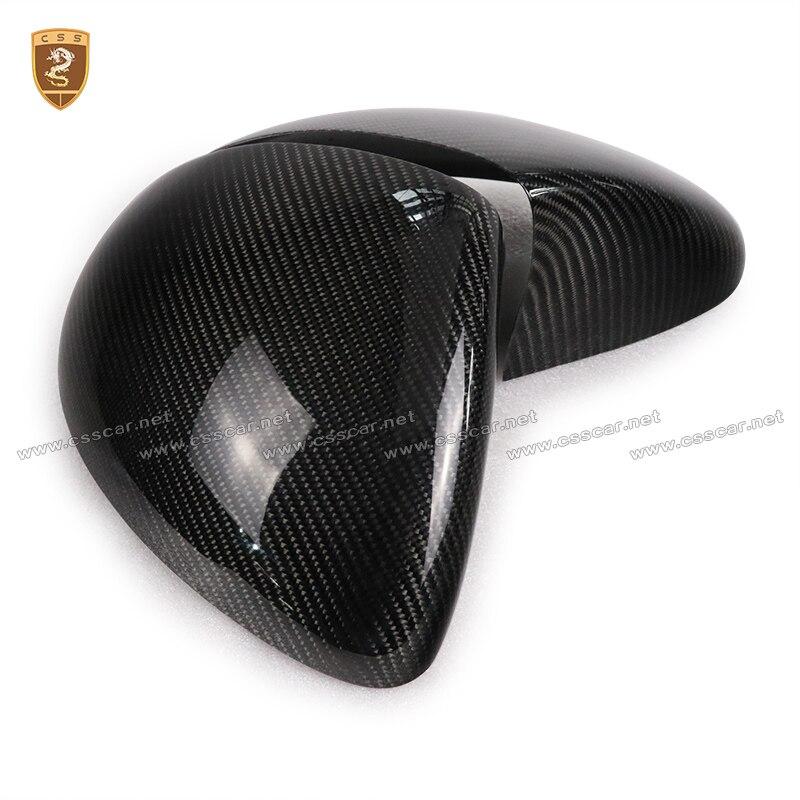 Fibre De carbone Side Wing Mirror Cover Pour Porsche Cayenne 958 2011 2012 2013 2014 Ajouter sur le Style Cayenne 958 Miroir couverture