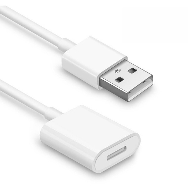 Apple pencil cableUSB к 8-контактному гнездовому зарядному кабелю для 9,7 10,5 12,9 iPad Pro Pencil к usb-кабелю