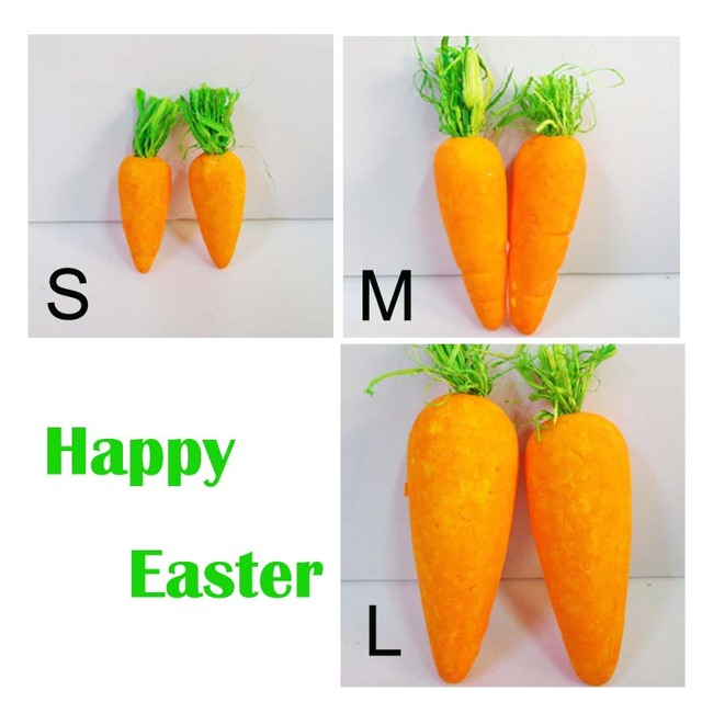 Easter foam carrots (36pcs) Craft- Easter decor items