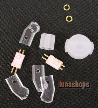 LN002587 	Korea Mould Series- Westone W4r Earphone Pins With Cover transparence