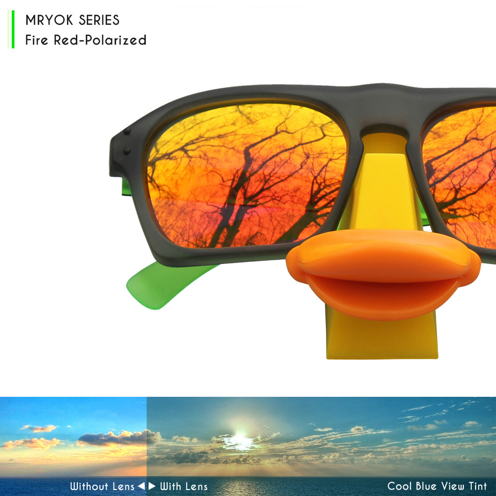 756b31f130 Mryok POLARIZED Replacement Fire Red Lenses and Black Rubber Kit for Oakley  Radar Path Sunglasses-in Accessories from Apparel Accessories on  Aliexpress.com ...