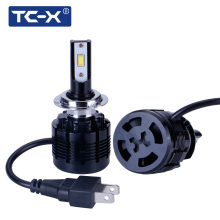 TC-X LED 7200LM Car Headlights H1 H7 LED H11/H8/H9 H4/9003 9005/HB3 9006/HB4 880/H27 6000K Car Headlight Fog Light Replacement