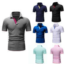 TJWLKJ Polo-Shirt Short-Sleeve Brands-Jerseys Plus-Size Mens Cotton High-Quality Summer