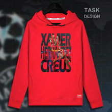 New Xavi Hernandez Creus Men pullovers hoodies sweatshirt Clothing streetwear tracksuit Spain Barcelona footballer star spring(China)