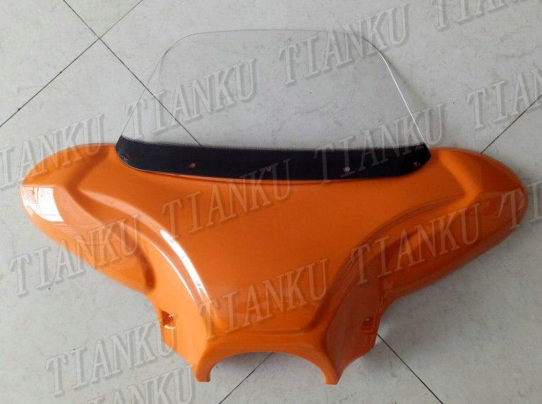 Laranja Windshield Windscreen Carenagem Para Suzuki Boulevard C50 C90 M109R C109 Marauder Volusia 800 800 M50 Intruder LC1500