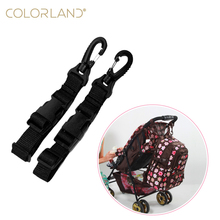 Baby stroller accessories hanging buckle shopping bag clips bicycle buckle removable connect strapes baby care free shipping