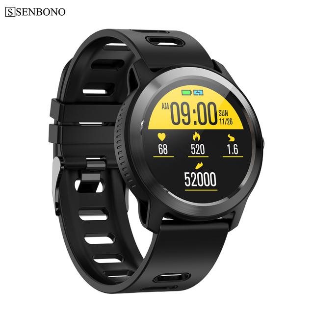 SENBONO S08 Plus IP68 Waterproof Men Smart Watch Heart Rate Monitor Fitness Tracker Women Smartwatch For IOS Android Phone clock