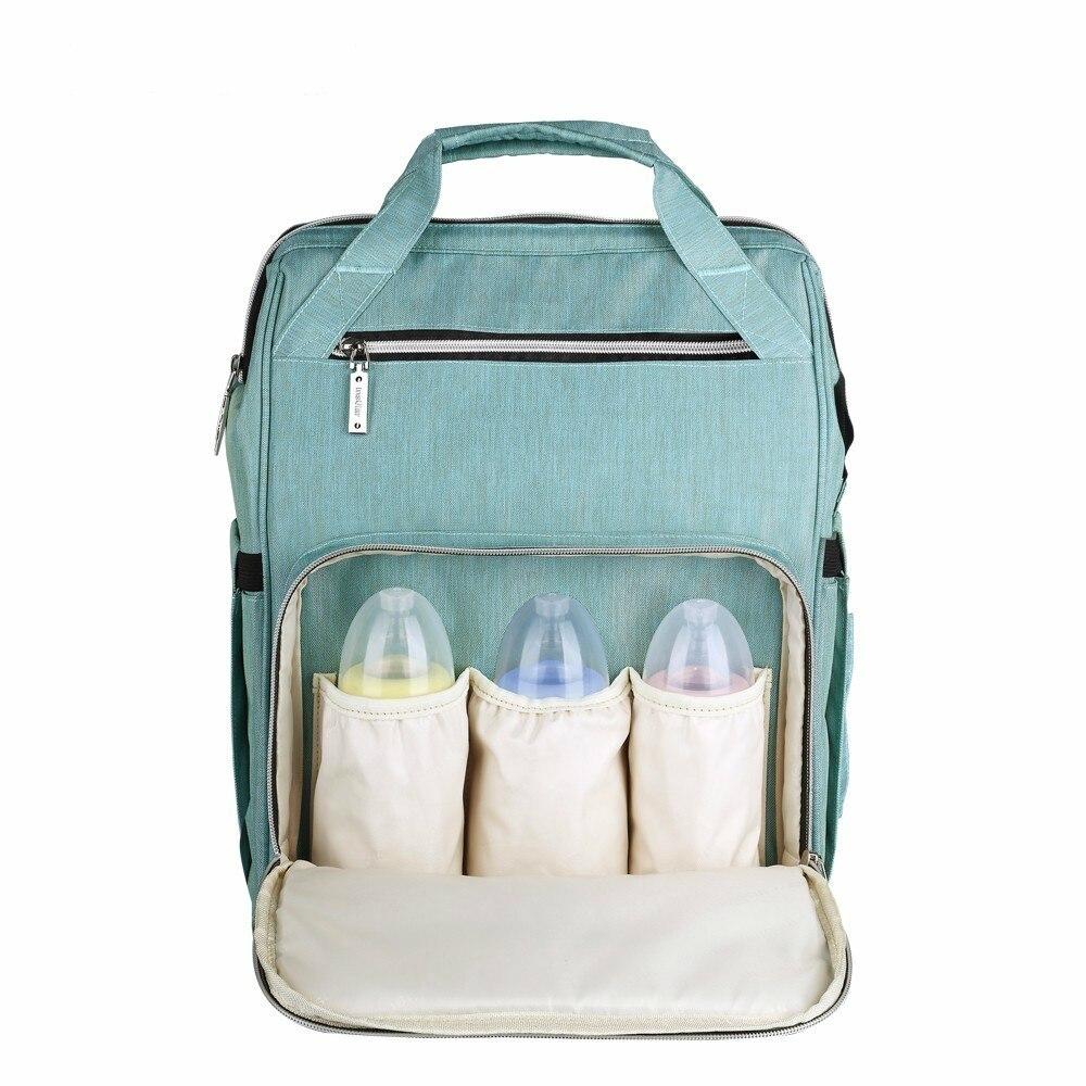 Couches pour bébé Sac Grande Capacité couche imperméable à l'eau Sac Kits Maman Maternité sac à dos de voyage de Soins Infirmiers À Main Poussette Pour Bébé Soins