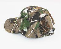 חמה למכירה Mens צבא צבאי קמפינג טיולי ציד Camo Cap כובע כובעים לשני המינים כובע הסוואה ציד הסוואה מדבר Camo