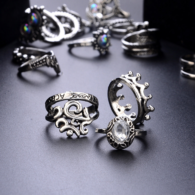 Beedazzling Stacking Rings 5