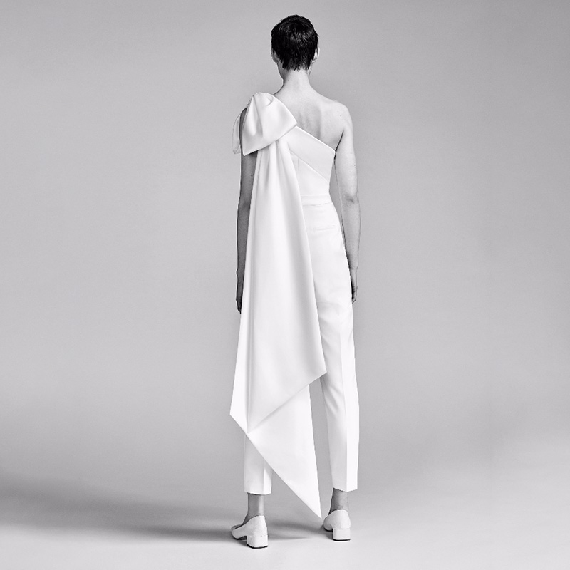 Mode Élégant Up Épaule Blanc Haute Manches Sexy Femmes De 2018 Gros Sans Une Combinaisons Qualité Dentelle Bandage wAIpTqpP