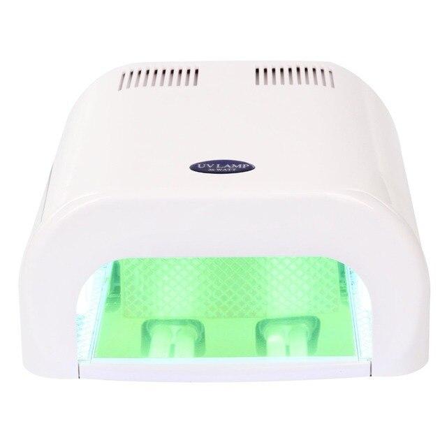 Makartt abs 36 w uv lámpara de uñas secador de uñas todo tipo de gel ...