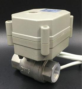Image 2 - TFM15 S2 C, yeni 2 yollu SS304 1/2 DN15 oransal valf 0 5V,0 10V veya 4 20mA DC9V 24V için 5 teller su modülasyonlu kontrol