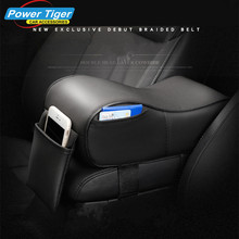 Memory Foam Car Armrest Cushions Armrest Center Consoles Head Neck Rest Pillow Pad for Car Motor Auto Vehicle