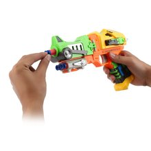 Electric Soft Bullet Toy Gun With Robot Telescope Ultra Long Range Robot Blaster Kids Electronic Toys Gifts For Children Boys