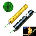 1500m Green Laser Pen Adjustable Focusing 532nm 100mW Beam High Power with Stars Cap Laser Pointer Pen for Teaching Camping
