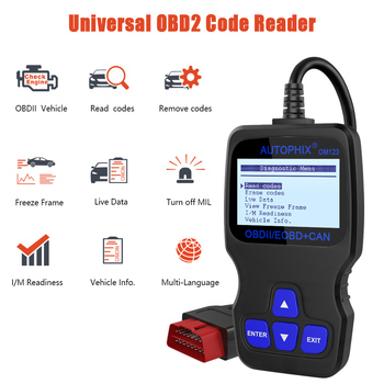 handheld diagnostic scanner,AUTOPHIX OM123 OBD2 Diagnostic Scanner & Code Reader