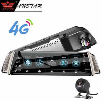 "Anstar 10\"" Rearview Mirror Car Camera 4G Android Dash Cam HD 1080P WiFi GPS Navigation Dual Lens Video Recorder Auto Registrar - Category 🛒 Automobiles & Motorcycles"
