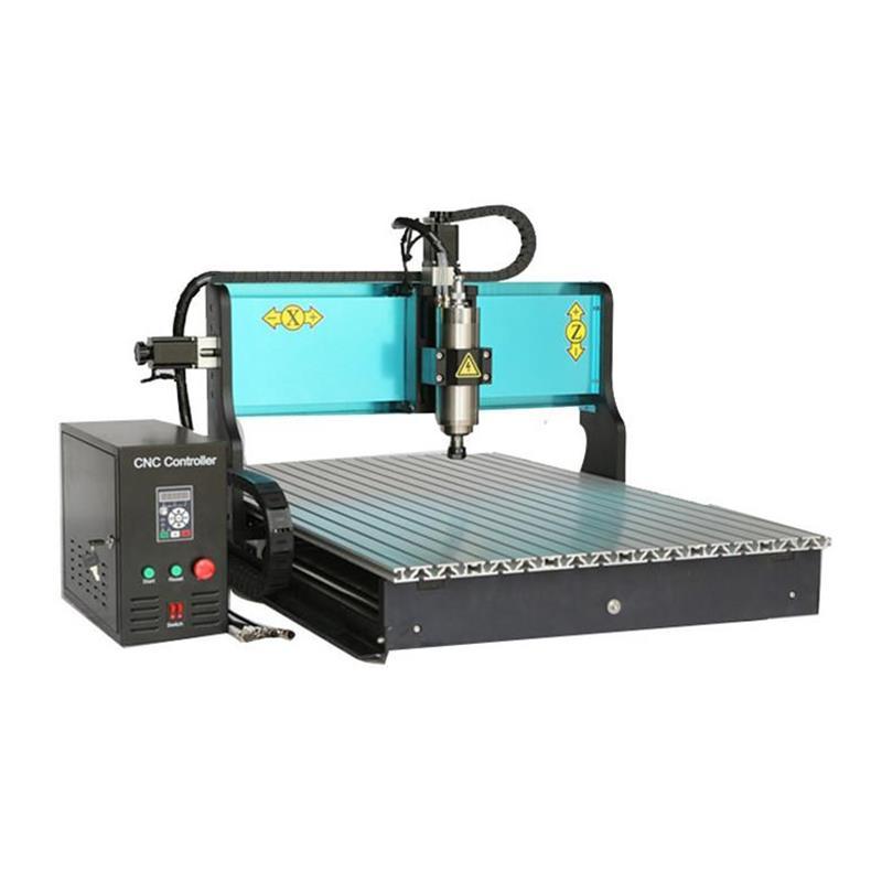 Livraison DHL bricolage CNC Kit de routage de bois routeur Machine 3 axes fraisage bureau gravure sur bois Machine avec Port Usb