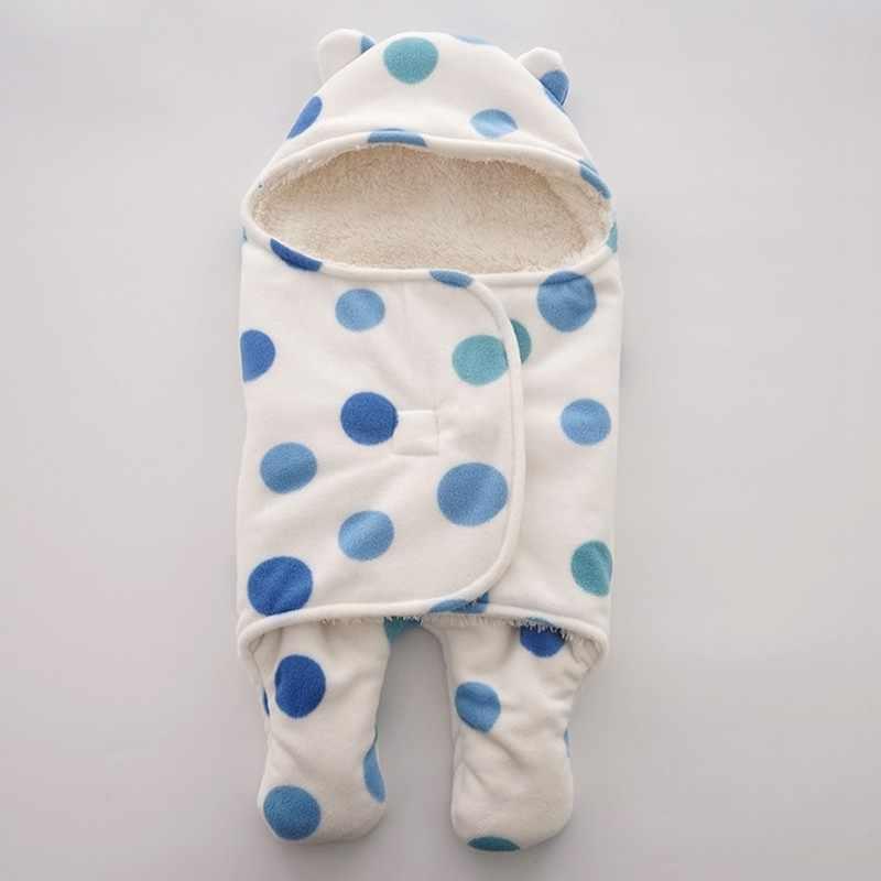 MOTOHOOD Baby Blanket Infant Thicken Flannel Swaddle Stroller Cartoon Winter Blanket Newborn Baby Bedding Blankets Sleeping Bag