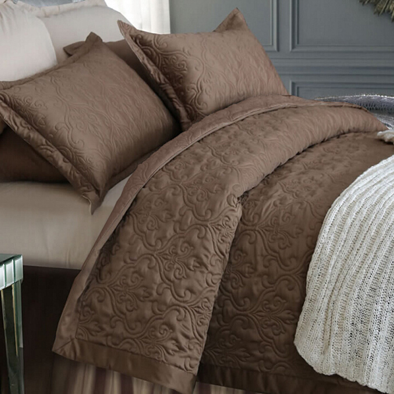 adream faux silk cotton bedspreads coverlet quilted quilt bedspread comforter for queen king size