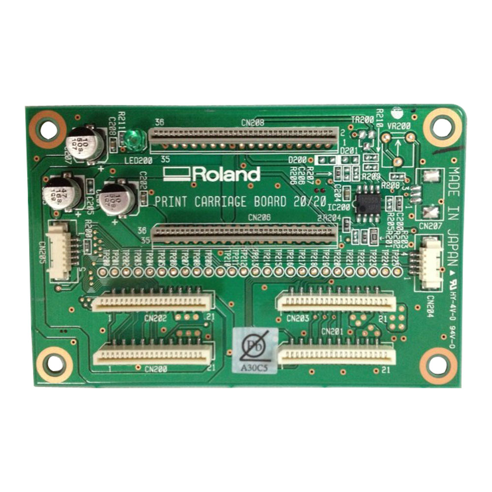 Original Roland SP-540 Print Carriage Board W8406050F0