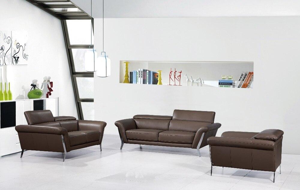 US $1398.0  Moderne Leder sofa für wohnzimmer sofa mit Italienischen  leder/Echtes leder sofa set-in Wohnzimmersofas aus Möbel bei Aliexpress.com    ...