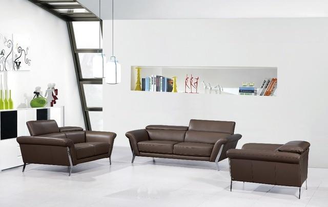 Moderne Leder sofa für wohnzimmer sofa mit Italienischen leder ...