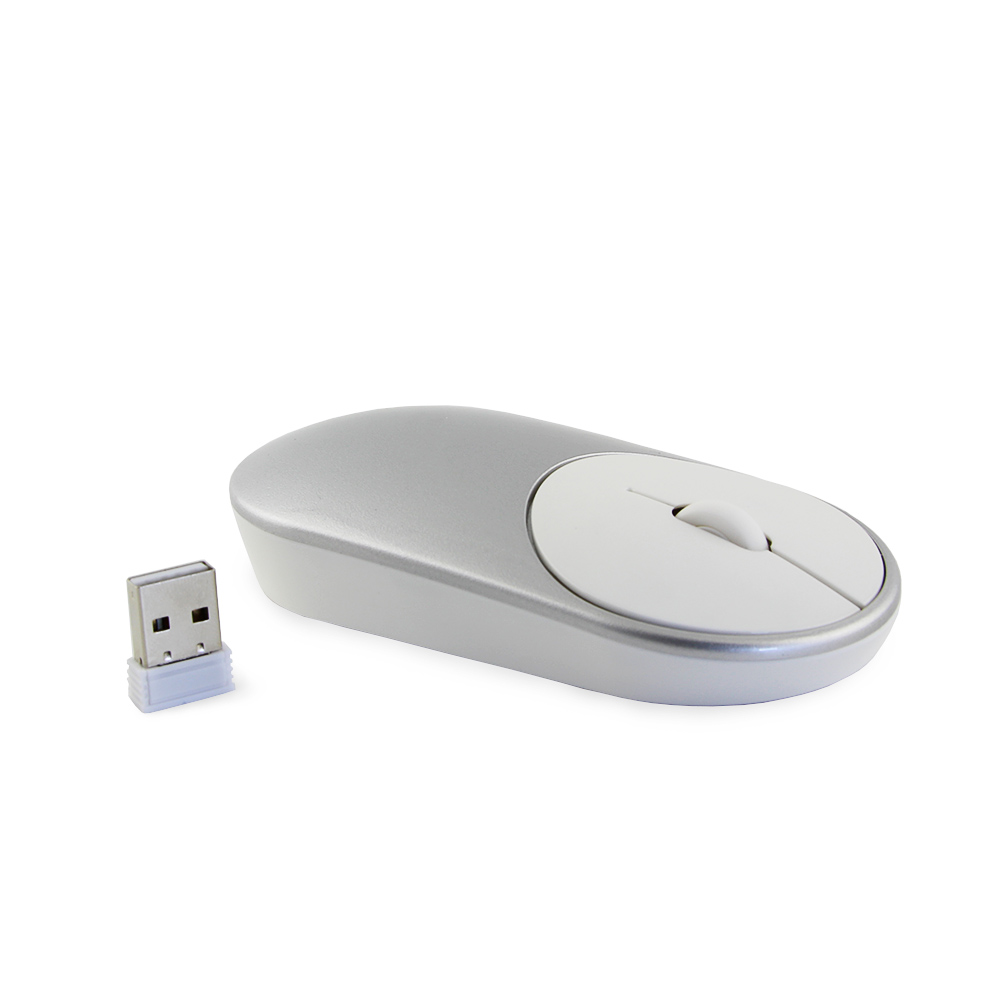 8b3e56e3235 CHYI Wireless Computer Mouse Mute Silent Click Mouse 1600DPI Optical ...