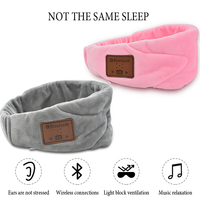 Portable Soft Night Sleep Music Eye Mask Eyepatch Bandage Shade Cover Blindfold Sleeping Eye Mask Sleeping Eyeshade Women Men